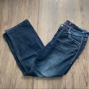 Women's torrid medium wash boot cut jeans